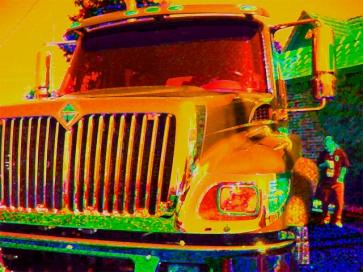 "Urban Extremes v2 Digital Giclee Print • 2004 • Image size: 30"" x 22.5"" • Framed: 38"" x 32"""
