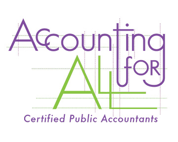 Accounting For All wordmark w/grid