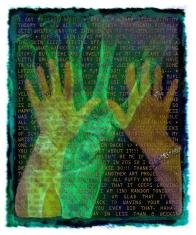 """Bare Hands • Digital Art • 5""""x6"""""""