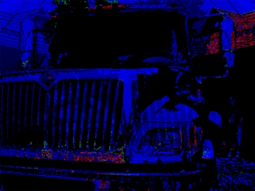 "Urban Extremes v.7 Digital Giclee Print • 2004 • Image size: 30"" x 22.5"" • Framed: 38"" x 32"""