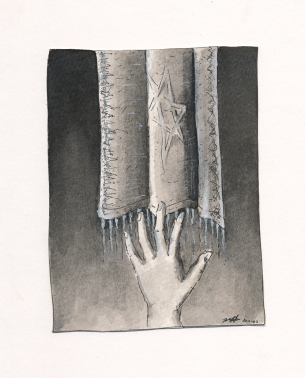 Within Reach, Pen & Ink wash