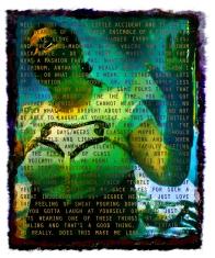 "Robo Mara • Digital Art • 5""x6"""