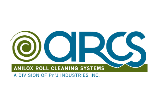 ARCS - Anilox Roll Cleaning Systems - 2/c Wordmark