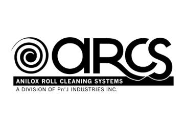 ARCS - Anilox Roll Cleaning Systems - B/W Wordmark