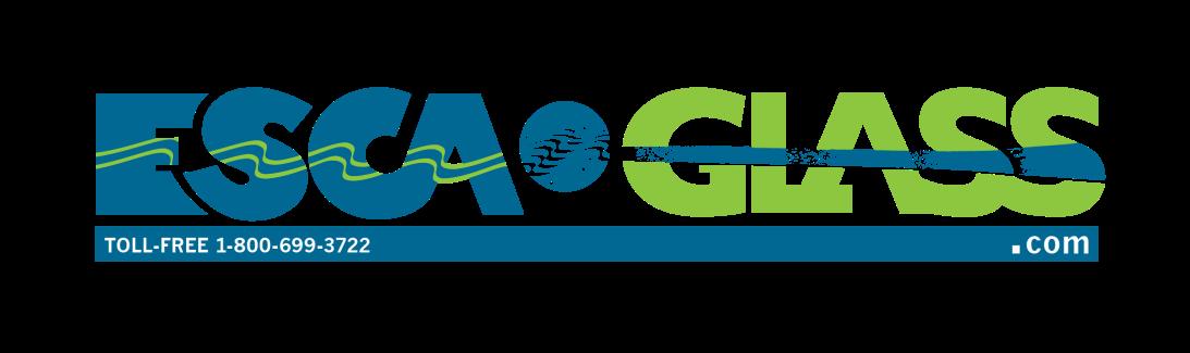 ESCA Glass - 2/c Wordmark with symbol