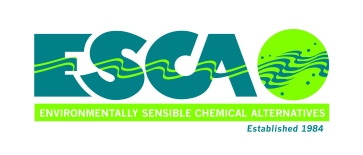 ESCA (Environmentally Sensible Chemical Alternatives) - 2/c Wordmark with Symbol