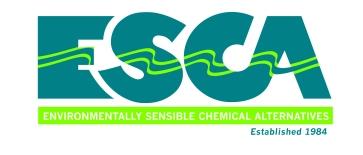 ESCA (Environmentally Sensible Chemical Alternatives) - 2/c Wordmark
