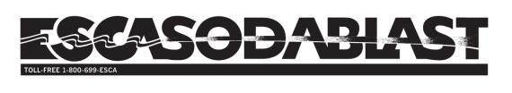 ESCA Sodablast - B/W Wordmark
