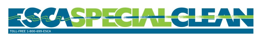 ESCA Special Clean - 2/c wordmark