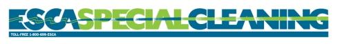 ESCA Special Cleaning - 2/c wordmark