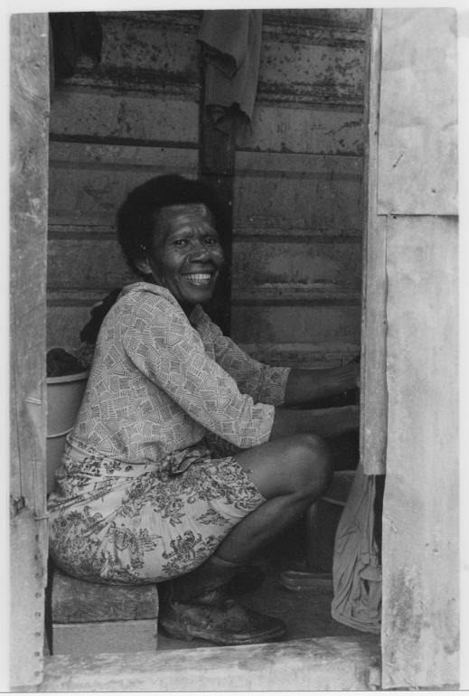 Mere, Moala Settlement, outside Suva, Fiji