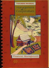 Management of Cooperatives Trainers Manual, South Pacific version, book design and illustration