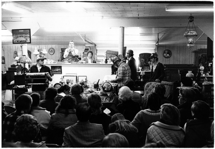 Country Auction, upstate New York