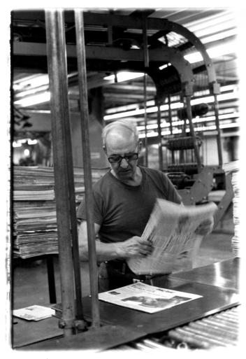 The Newspaper Man, Albany, New York