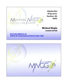 MNCG Business Card - front/back