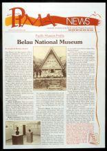 Pacific Islands Museum Association newsletter design