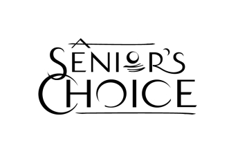 A Senior's Choice logo - B/W