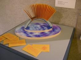 Se(a) Crossings installation, Kresge Art Museum, MSU, East Lansing, accompanying artist's book