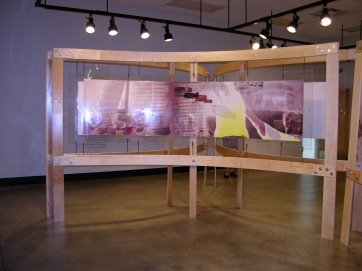 Exhibit Installation, Mott Community College, Visual Arts & Design Center
