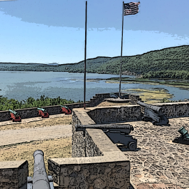 Fort Ticonderoga views
