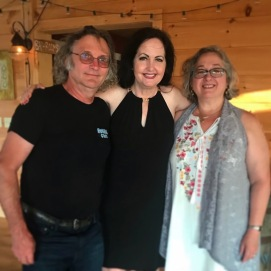 Visiting with Nan O'Brian in Vermont, July 8, 2018