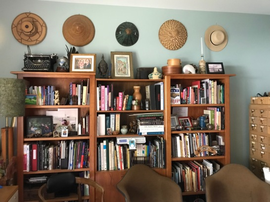 "Hats in my ""Home Inspiration Cave"""