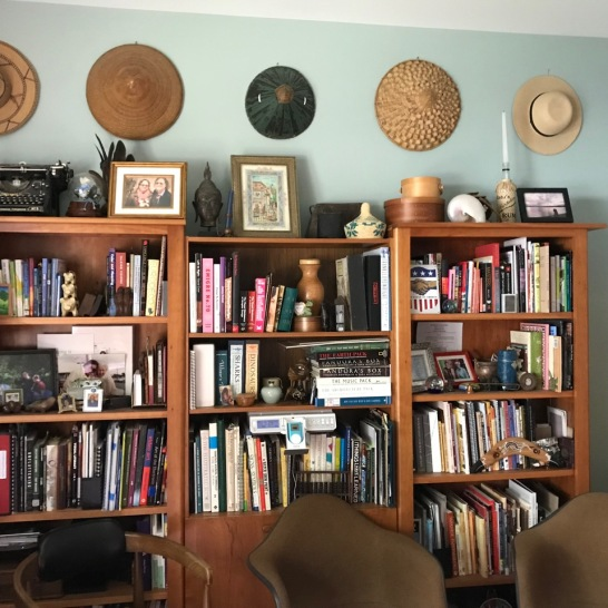 """Hats in my """"Home Inspiration Cave"""""""