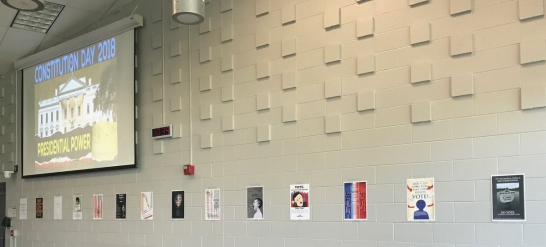 Constitution Day Poster Display