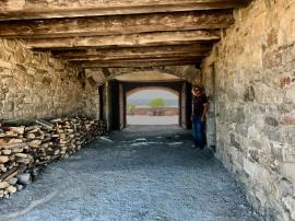 Fort Ticonderoga Passageway