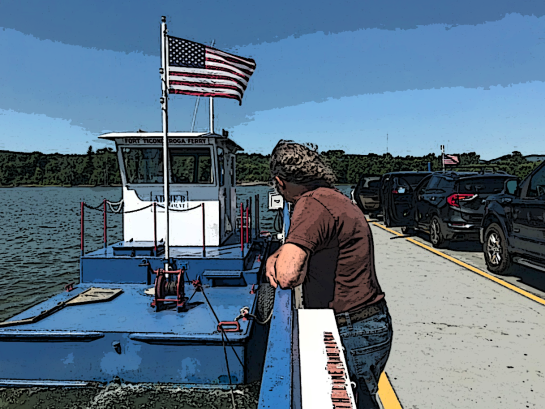 Ticonderoga Ferry
